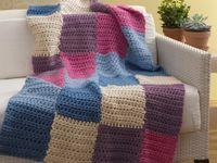 blankets to knit & crochet