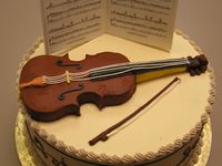 Musical Themed Cakes