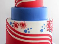 4th of July Cakes and Desserts
