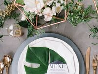 Going Troppo / Modern tropical themed wedding
