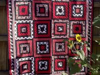 Quilts that use black fabrics