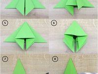 Origami und Papier