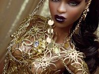 black Barbie dolls