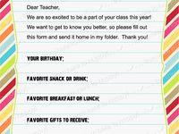 Teacher / School stuff