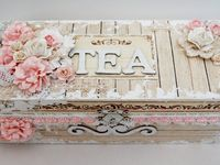 ALTERED VINTAGE/SHABBY CHIC CRAFTS
