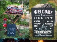camping wedding
