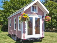 101 besten tiny houses container houses bilder auf pinterest bauwagen container h user und. Black Bedroom Furniture Sets. Home Design Ideas