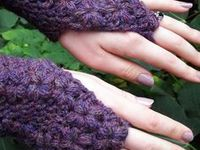 sister to sister, fingerless mitts