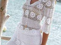 Szydelkowe sukienki na lato