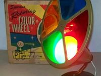 Retro vintage. christmas trees color. wheels.