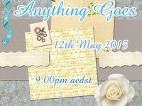 Anything Goes  12/05/15 / Anything Goes Market - Tuesday 12th May, hosted by Handmade Markets and The Oz Material Girls,