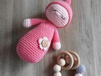 Amigurumi, Crochet <b>baby</b> toys and <b>Baby</b> rattle