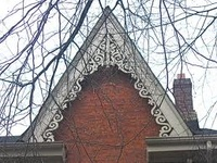 24 best images about gable decor on pinterest ontario for Victorian gable decorations