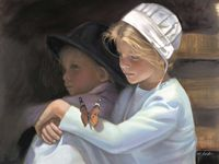Un tuffo nel passato rurale, ma... ancora vissuto dalle comunità Amish, Mennonite  e Hutteras ~ A blast from the rural past, but.. still lived by Amish, Mennonite and Hutteras.. Paintings & Photos