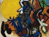 Pin By Kaj Jensen On Asger Jorn Art Abstract Painting Painting