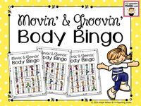 Creative Movement Activities / Creative movement activities using bean bags, scarves, stretchy bands, jump ropes, yoga, brain breaks, games, relays and more.