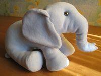 elephant knuffel