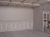 Wallpaper and flooring