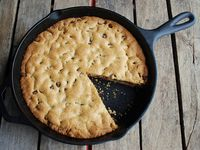 13 best images about cast iron recipes on pinterest for Cast iron skillet camping dessert recipes