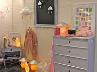 Inspiratie voor kinderkamerverlichting * sfeerfoto's van kinderlampen en babykamerlampen *  DIY kinderlampen