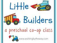 Ideas and activities for our homeschool coop preschool class