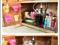 46 Best Under Kitchen Sink Organizer Shelf images | Sink organizer, Kitchen sink organization, Under kitchen sinks