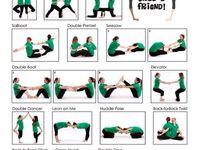 Posizioni yoga di coppia