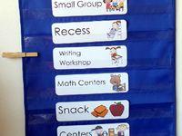 Preschool - daily schedule