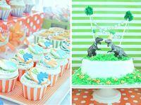 Austin's Dino B-Day Party