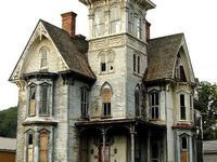 Abandoned, derelict houses can tell so many stories...
