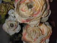 Fabric and Paper Flowers II