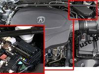 Acura Tlx 2014 2015 2016 2017 2018 2019 Fuse Box Location