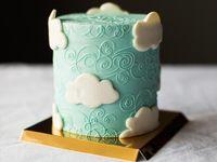 Bulut pasta dekorasyon