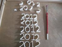 fondant letters and numbers