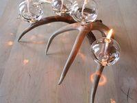 antler wedding centerpieces
