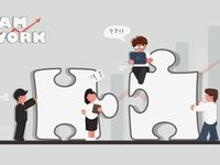 Team Cooperation Illustration Unity Board Painting Hand Painted Flat Illustration Image On Pngtree Free Download On Pngtree Image Illustration Illustration Graphic Design Background Templates
