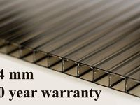 8mm Polycarbonate Roofing Sheet Bronze Various Size 10 Year Warranty Roofing Sheets Roofing Modern Luxury Interior