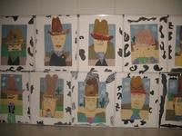 Art Ideas - Rodeo Art!!