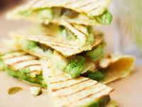 ... Quesadillas on Pinterest | Spinach and feta, Salsa and Vegetables