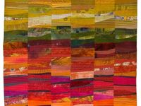 quilt inspiration / I quilt every day. It is the thing that makes my heart beat faster. I especially love art quilts and mixed media collage
