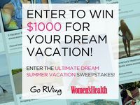 Women's Health & Go RVing Ultimate Dream Summer Vacation