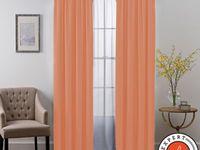 Smartblock Chroma Rod Pocket 100 Blackout Window Curtain Panel