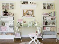 Craft rooms and home offices