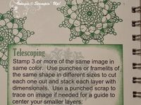STAMPIN UP TECNIQUES