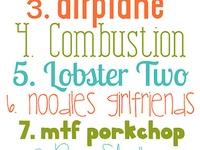{fonts}, fonts, !fonts!, FONTS