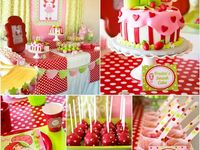 strawberry birthday ideas