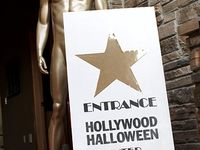 Hollywood Halloween party