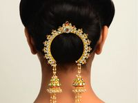 Indian jewellery and dress!