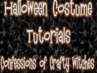 This Is Confessions of Crafty Witches Halloween Costume Tutorial Album