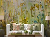 wall spaces, murals etc